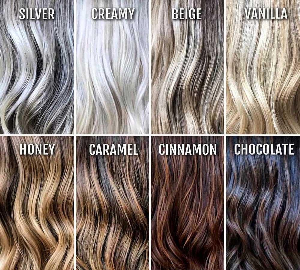 نحوه خوانی رنگ مو طبیعی