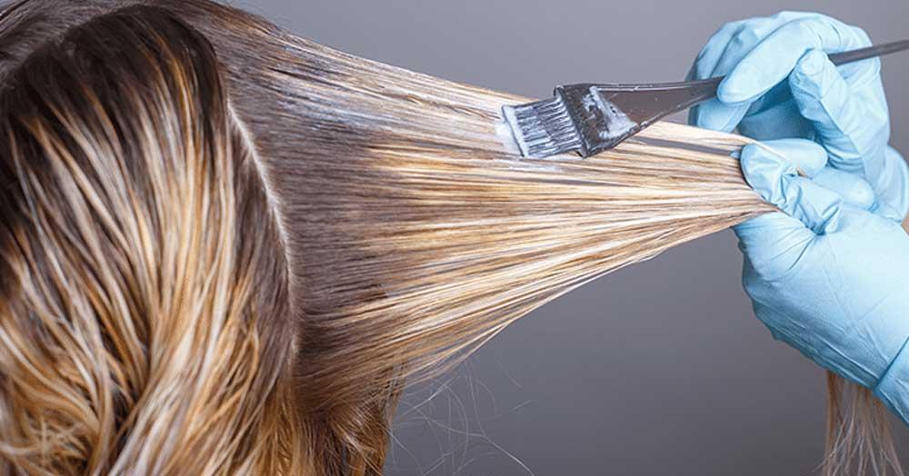 حساسیت به انواع رنگ مو