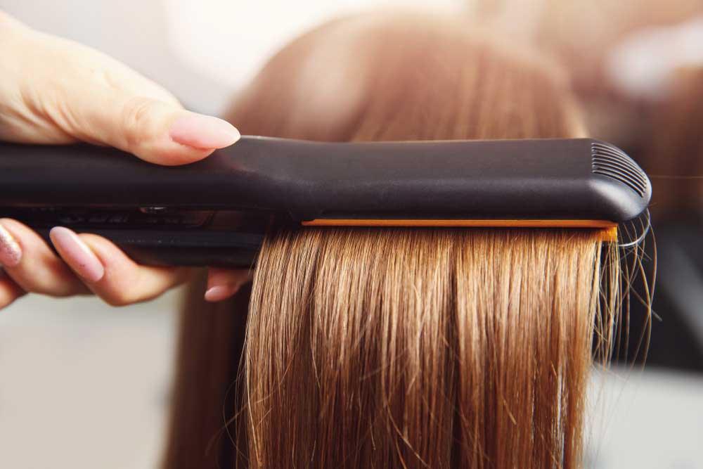 آسیب موها ناشی از حرارت