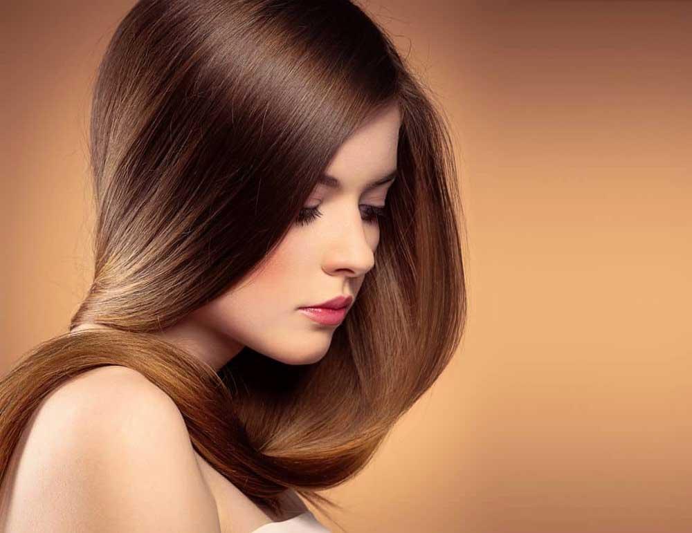 درخشان کردن موی مات