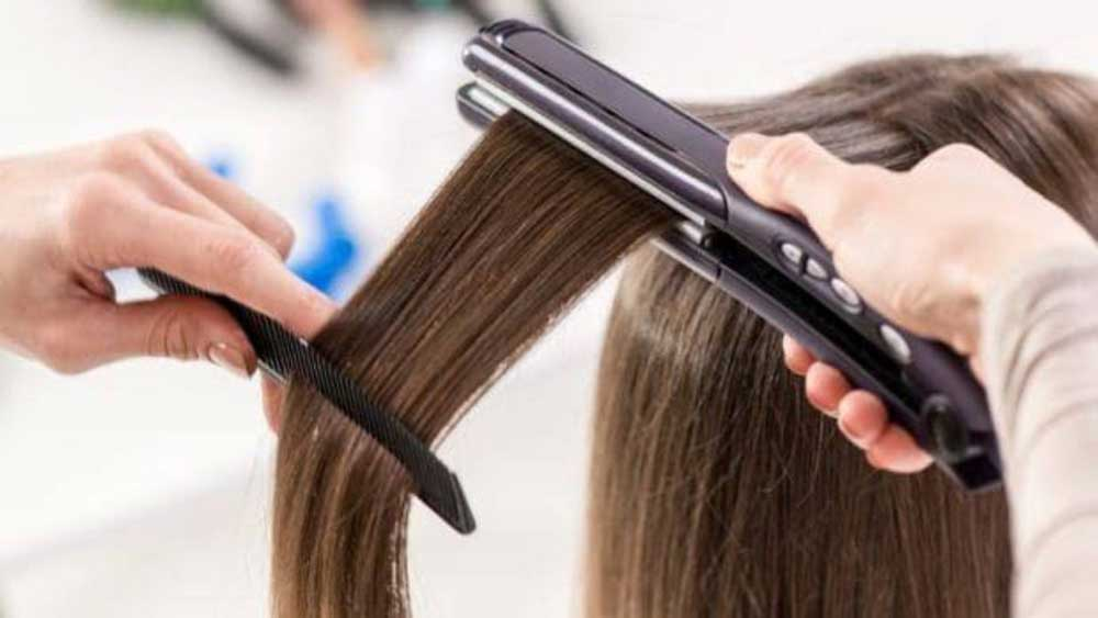درمان موهای صاف و آسیب دیده