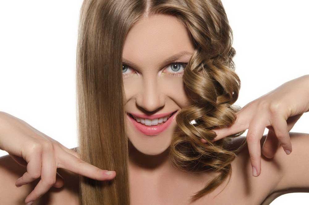 فر کردن موها با توی مو