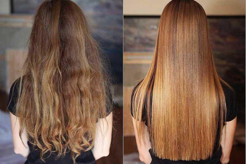 نگهداری از موی بلند زنانه