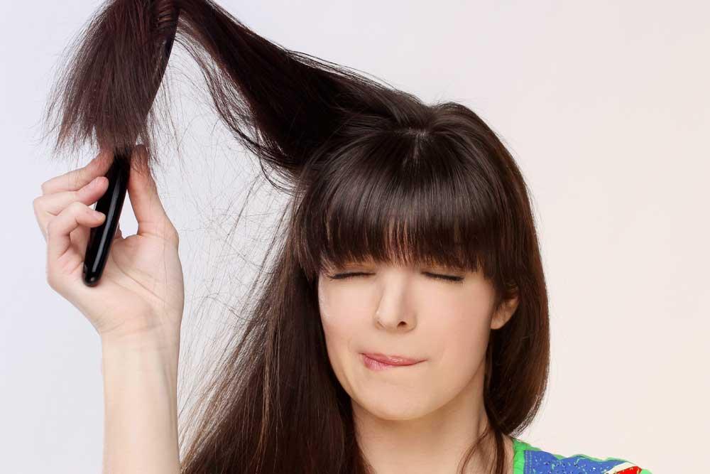 مراحل حالت دادن به موها