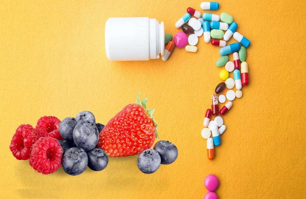 مکمل های ویتامین برای مو