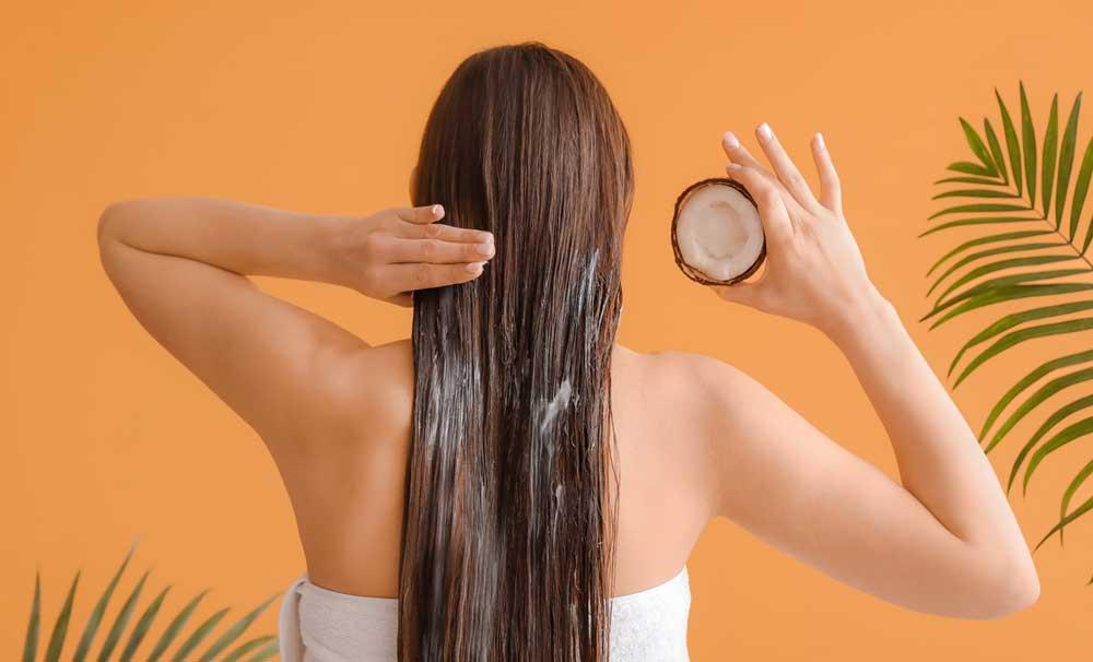 فواید روغن نارگیل برای مو