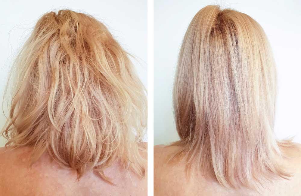 مواد طبیعی برای کراتینه مو