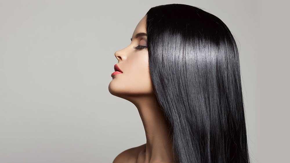 درمان موها با کراتین