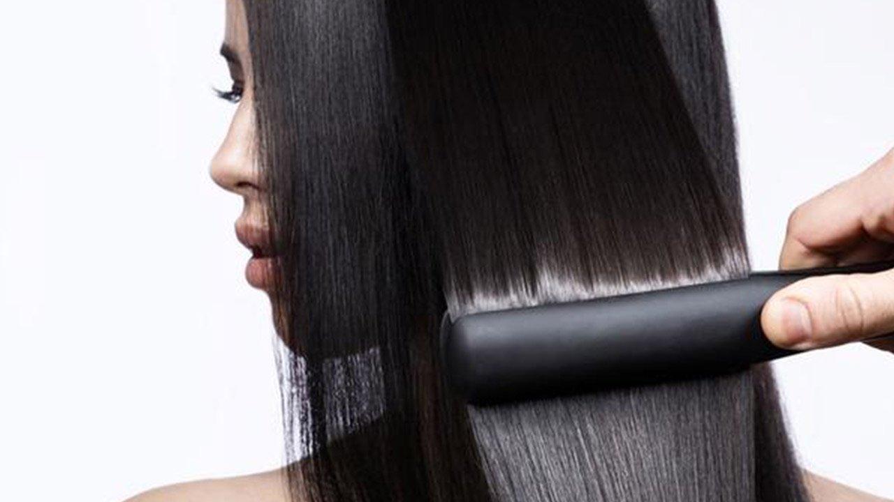 اتو کشیدن مو بعد از کراتین درمانی