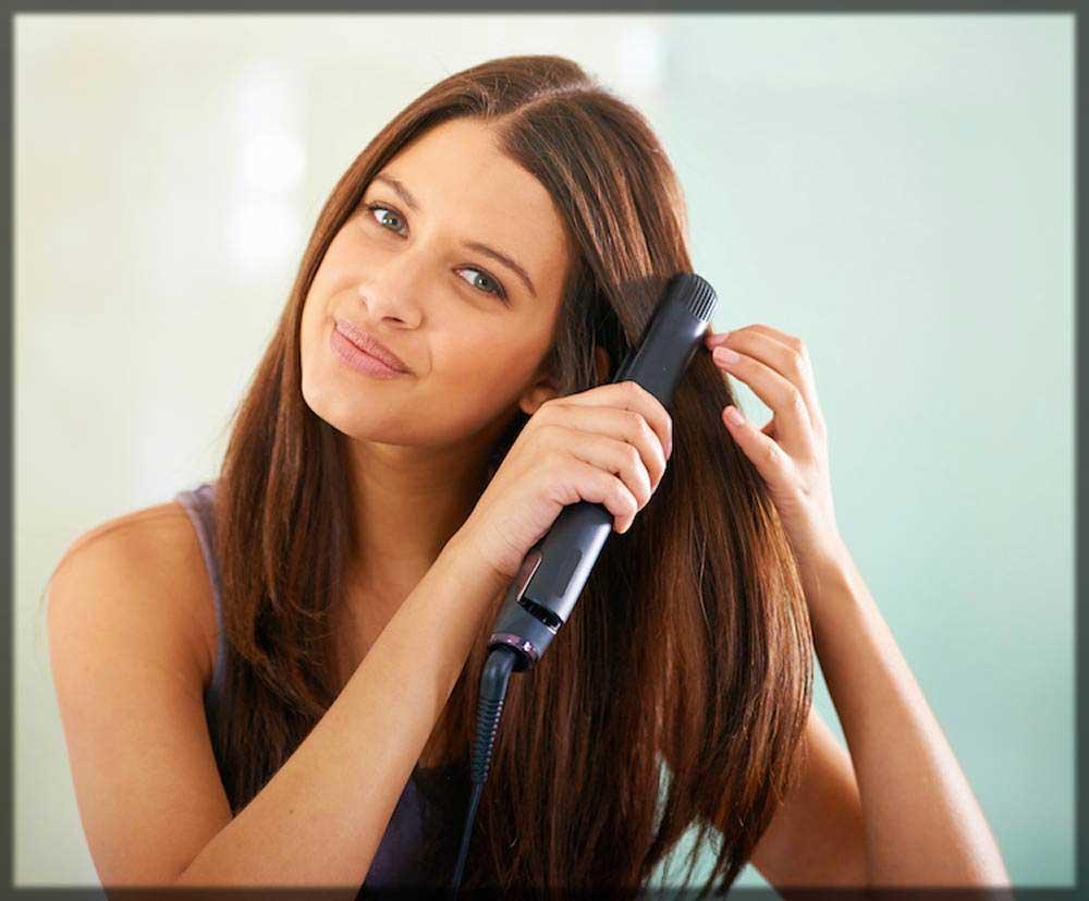 اتوی مو بعد از کراتین درمانی