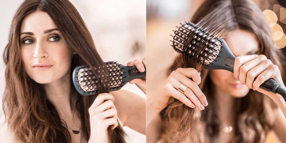 طریقه حالت دادن به موهای مجعد
