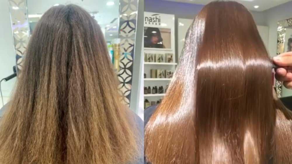 علت صاف نشدن موها بعد از کراتین