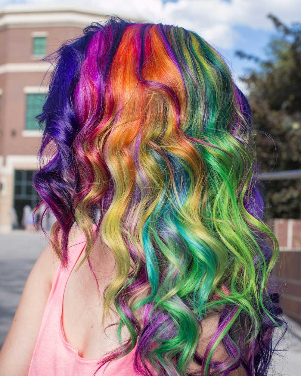 نحوه مراقبت از رنگ موی فانتزی