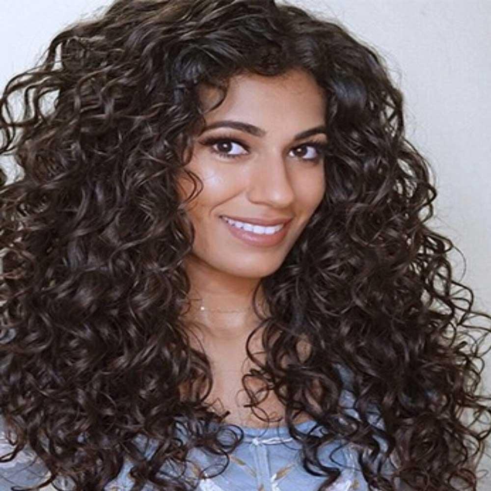 روش های فر زدن به موهای بلند