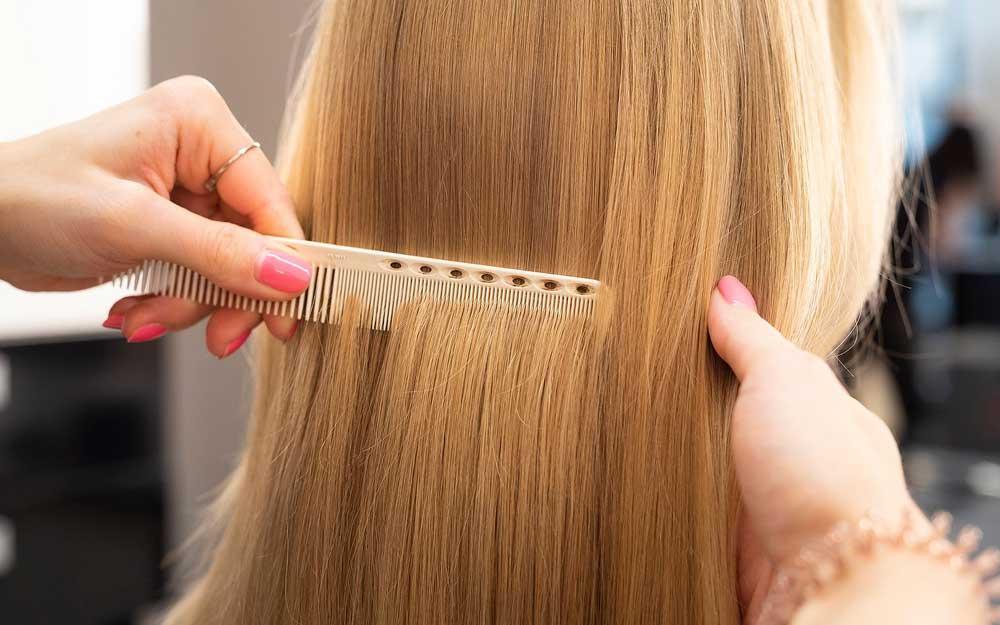 ریزش مو و کراتین درمانی