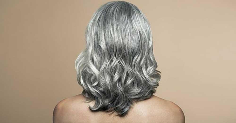 موی خاکستری کوتاه