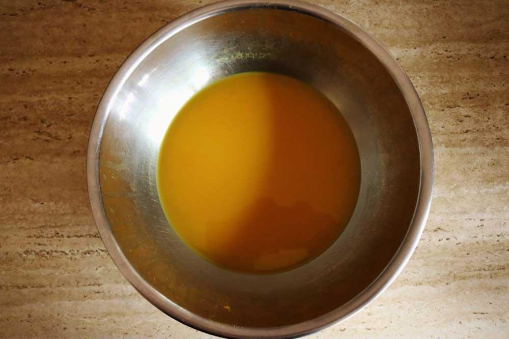 طرز تهیه خمیر زردچوبه