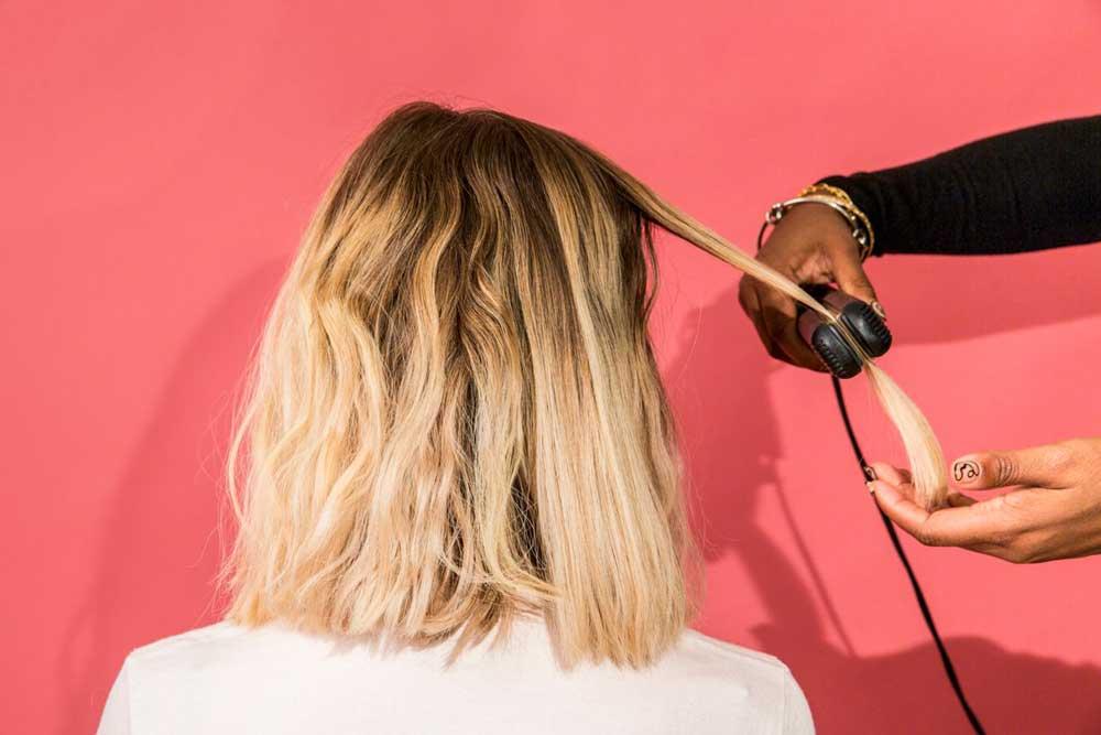 صاف نشدن موها بعد از کراتین