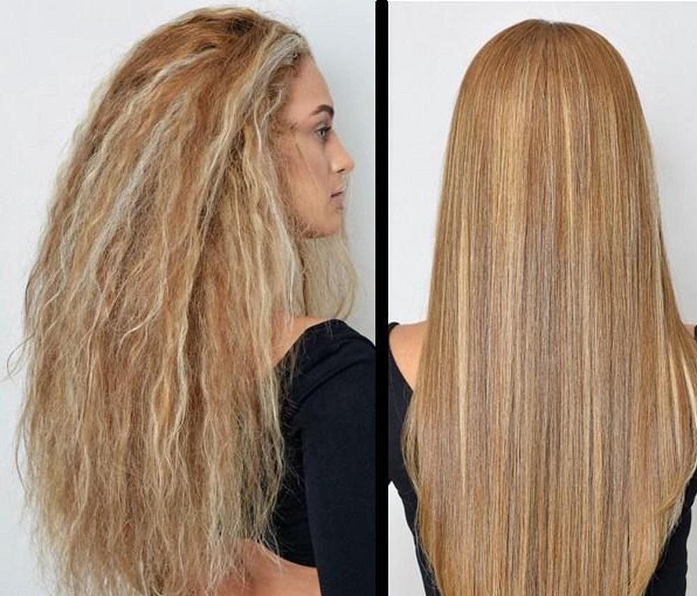 کراتینه موی بلند