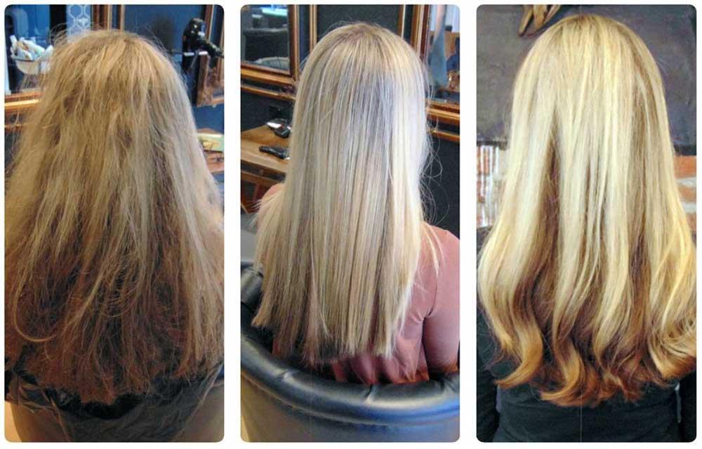 دلیل صاف نشدن موها بعد از کراتین