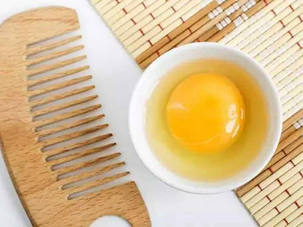 درمان شکنندگی مو با تخم مرغ