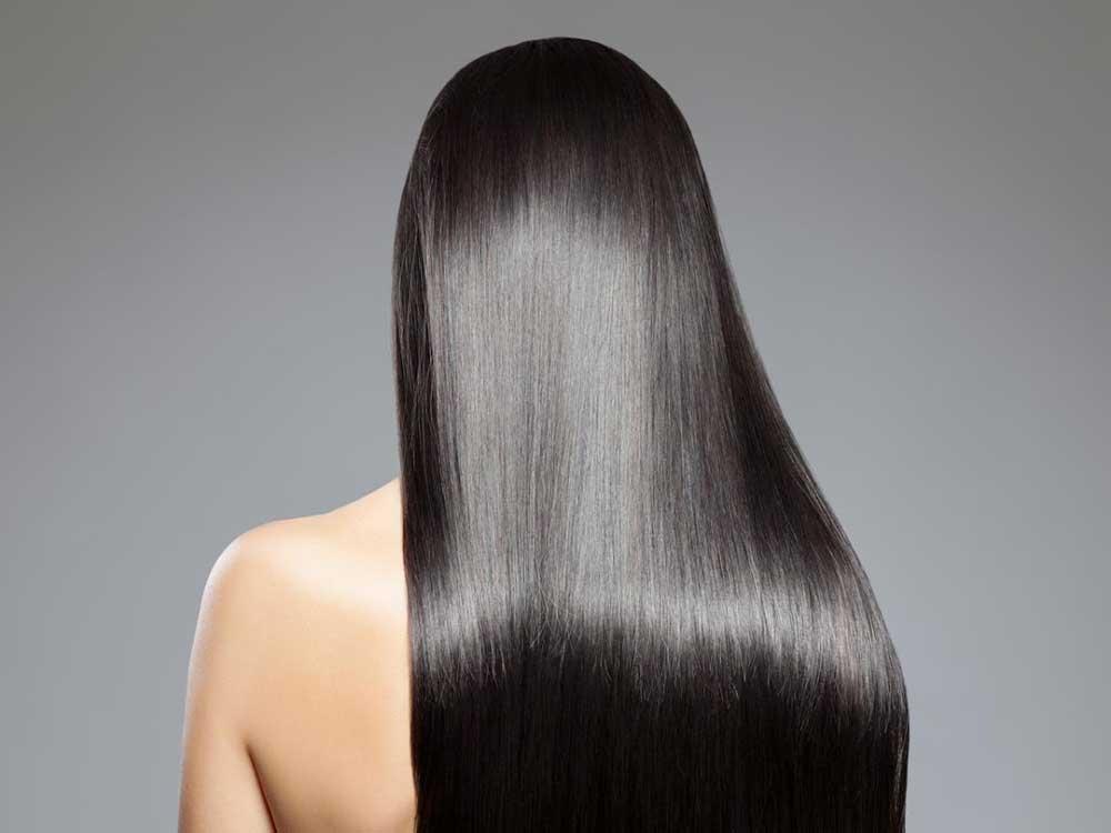 راز براق شدن موهای بلند