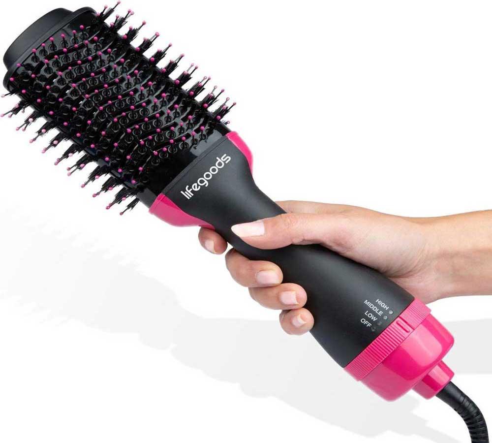 طرز استفاده از برس حرارتی مو