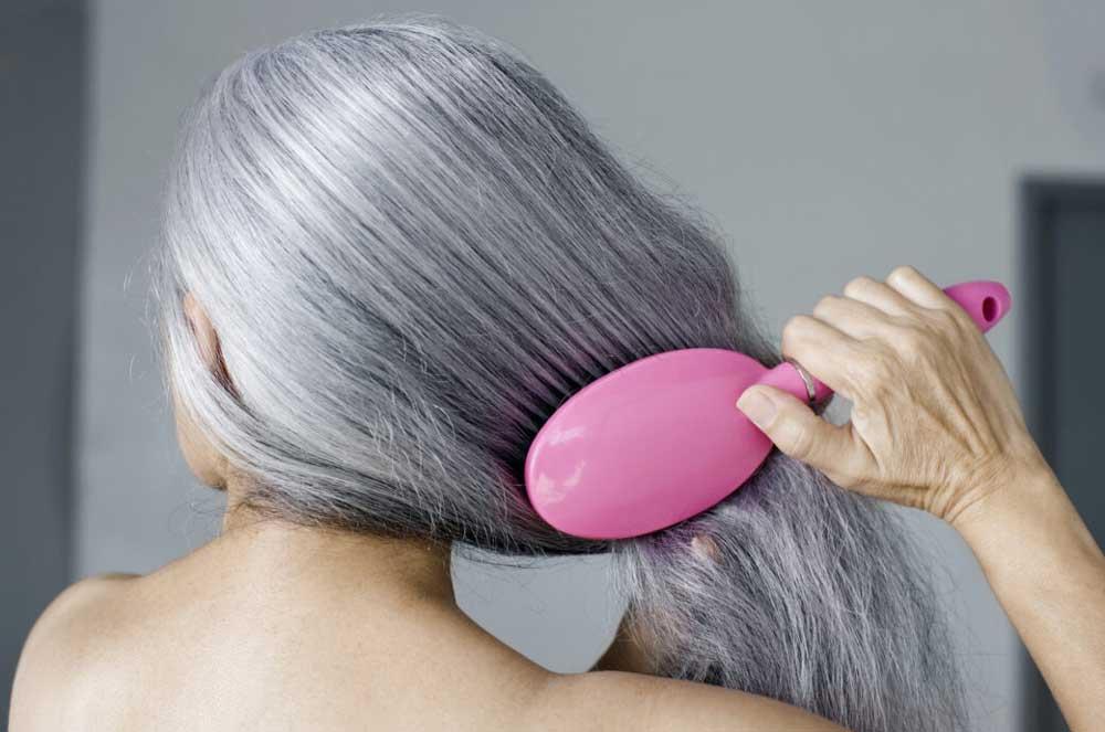 ویتامینه کردن موی خاکستری