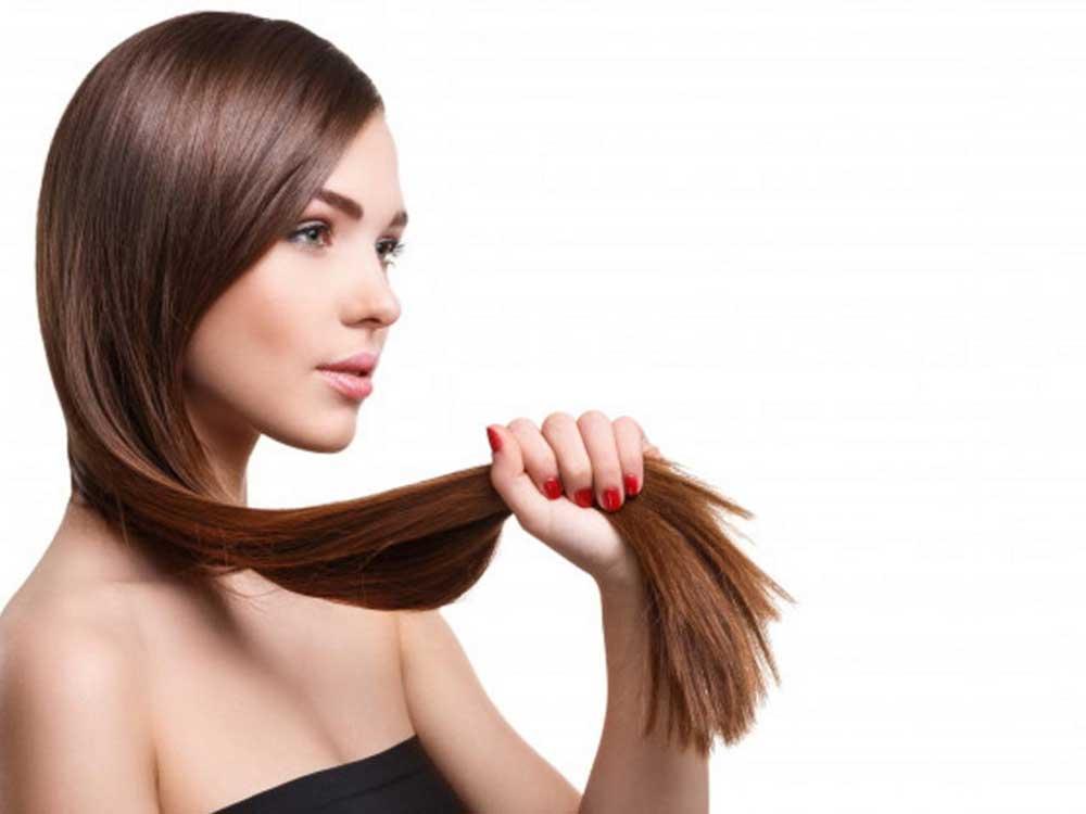 نحوه درمان کراتین مو