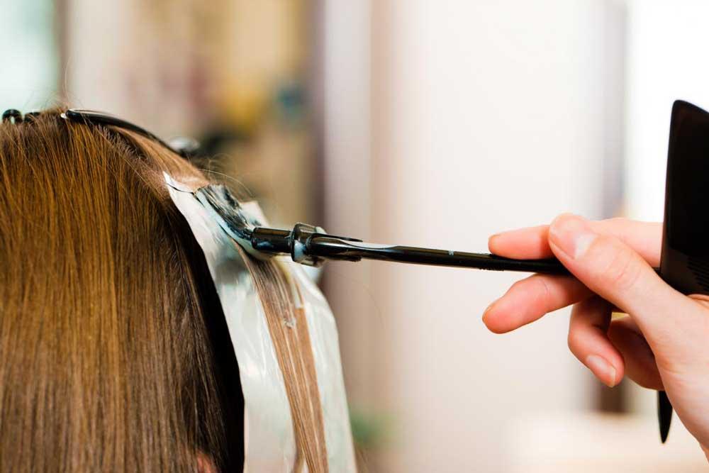 طرز صحیح رنگ کردن موها