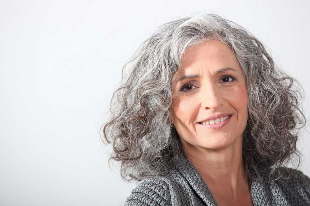 ریزش مو در خانم های میانسال