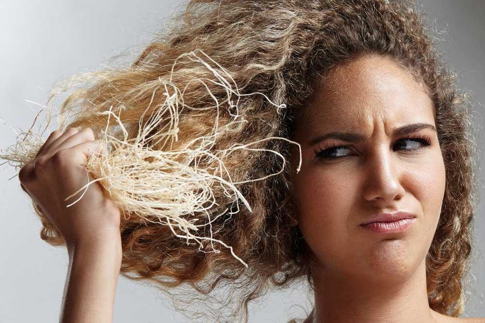 ماسک خانگی رفع خشکی مو