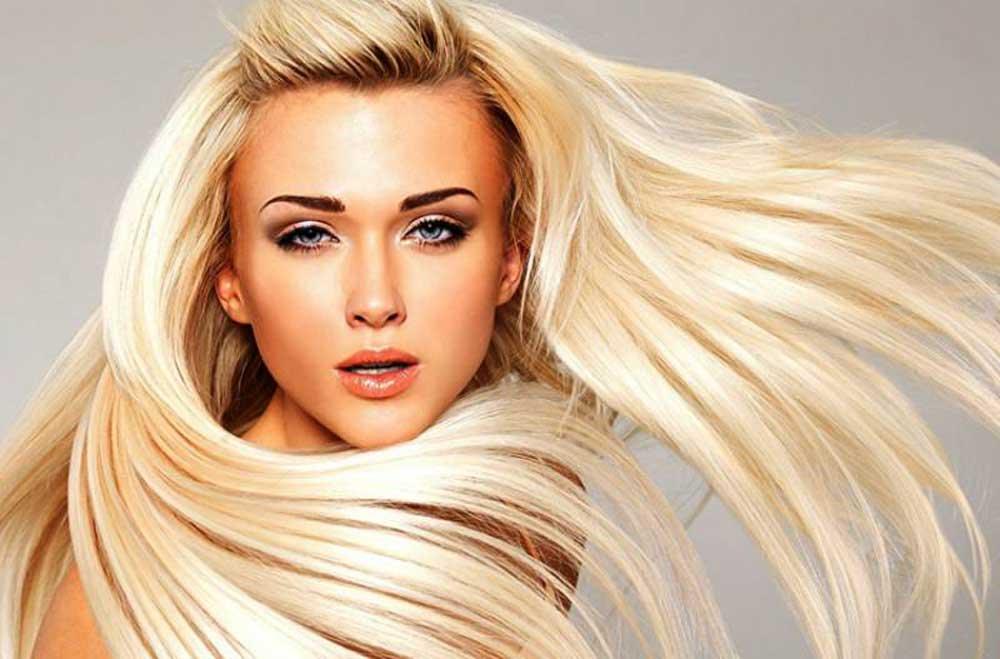 از بین بردن زردی مو بعد از رنگ و دکلره