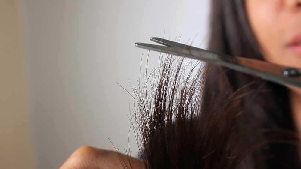 کوتاه کردن موخوره های مو