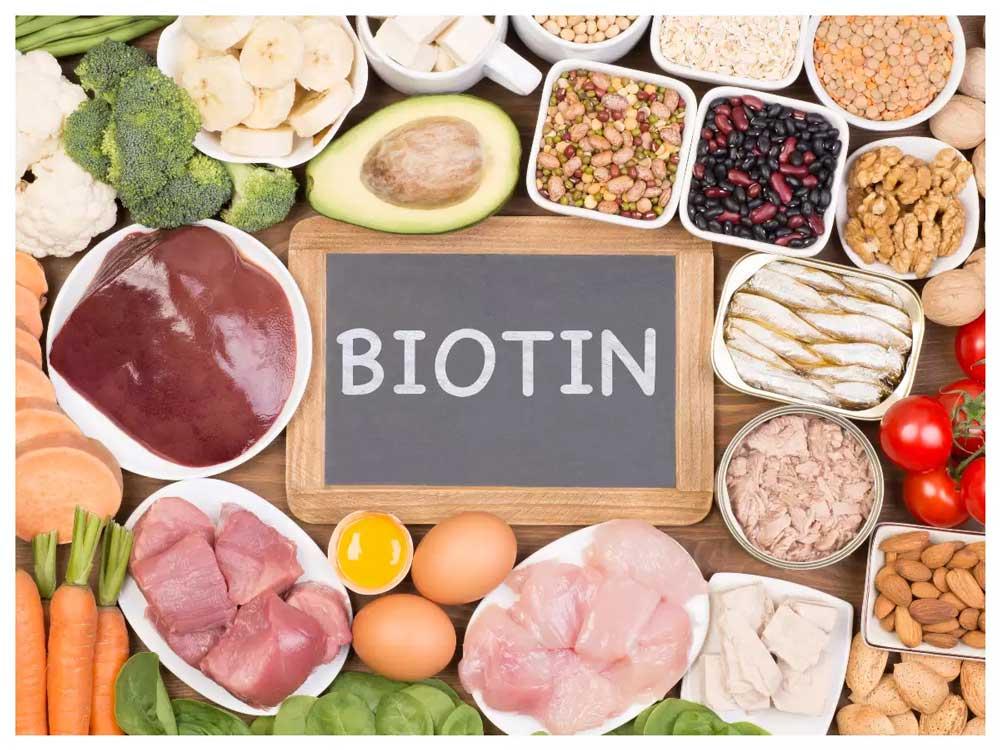 مواد غذایی حاوی ویتامین ب7