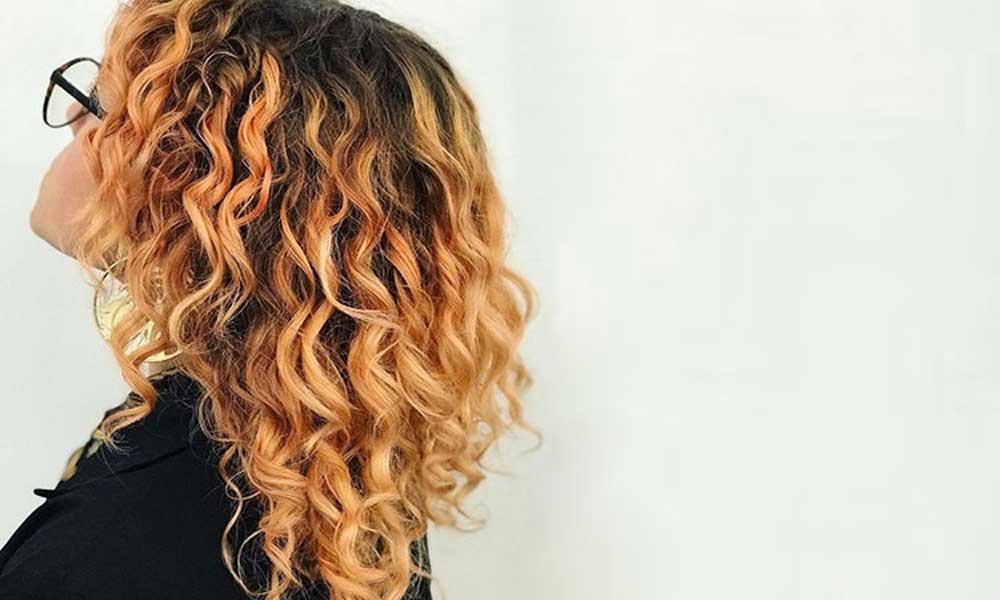 درمان موهای خشک و مجعد
