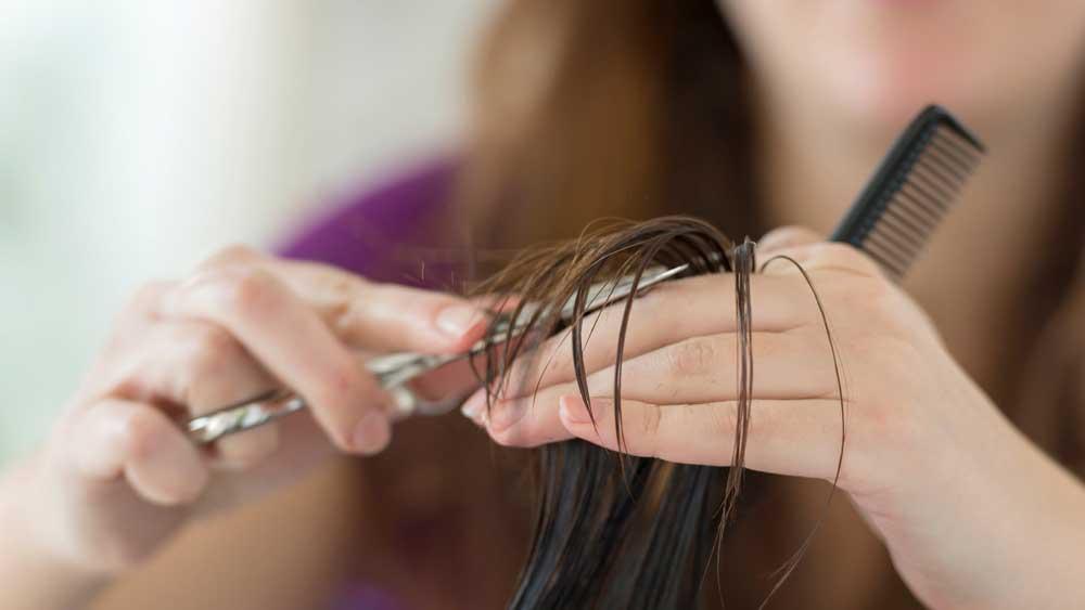 کوتاه کردن موی فر