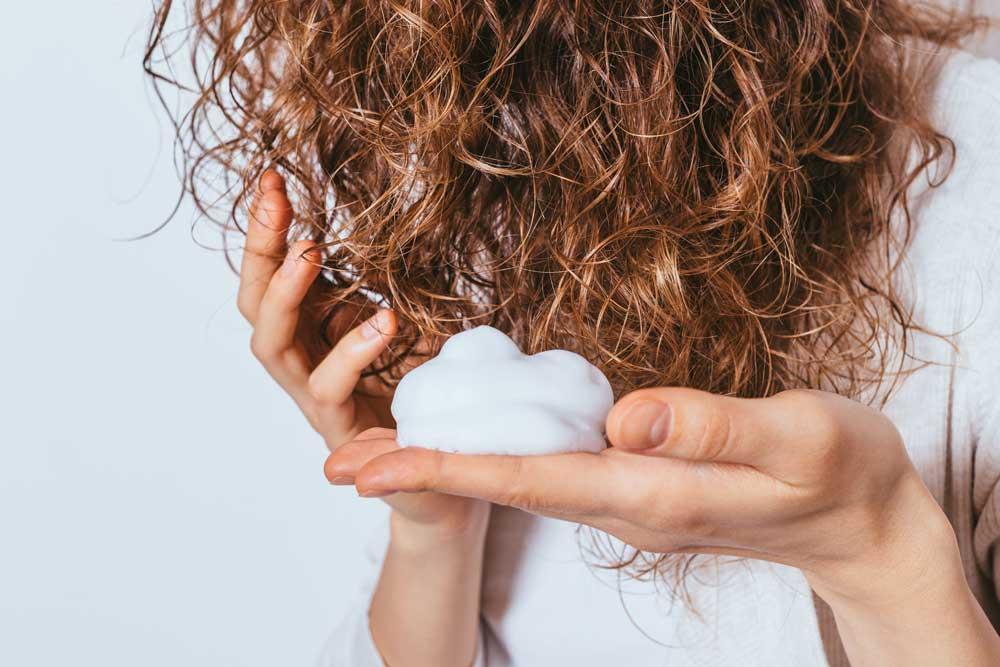 طرز استفاده از ژل مو