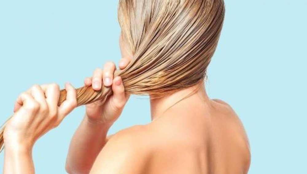 شیوه آبرسانی به موهای خشک