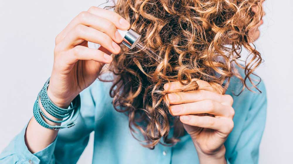 انواع روغن مناسب موی سوخته