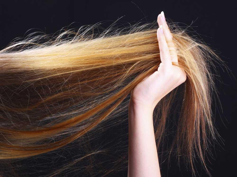 مراقبت از موی رنگ شده بلند