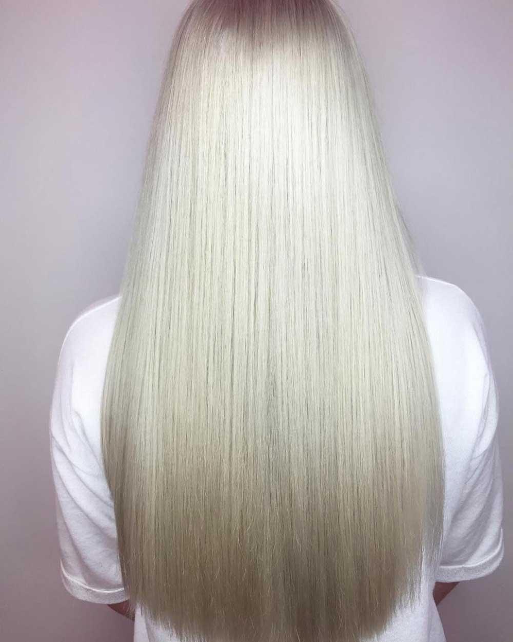 کراتین موی سفید و خاکستری