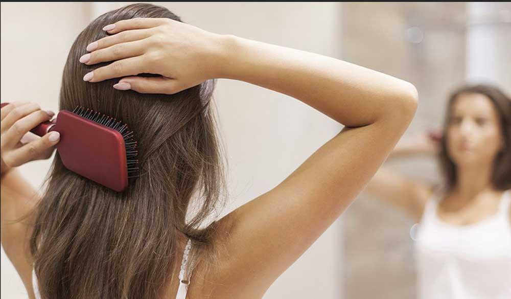 شانه زدن به موها بعد از حمام