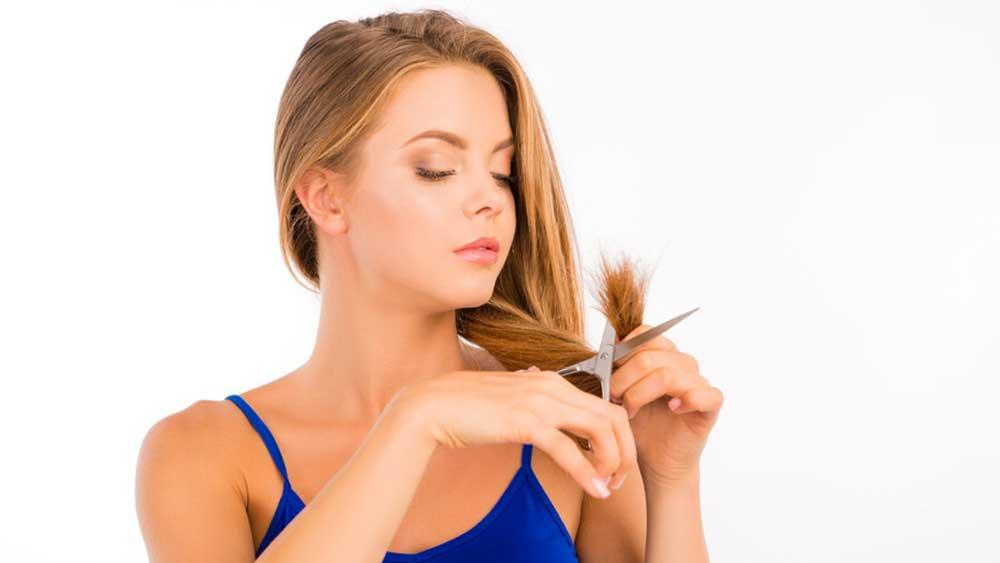 کوتاه کردن موهای حالت دار