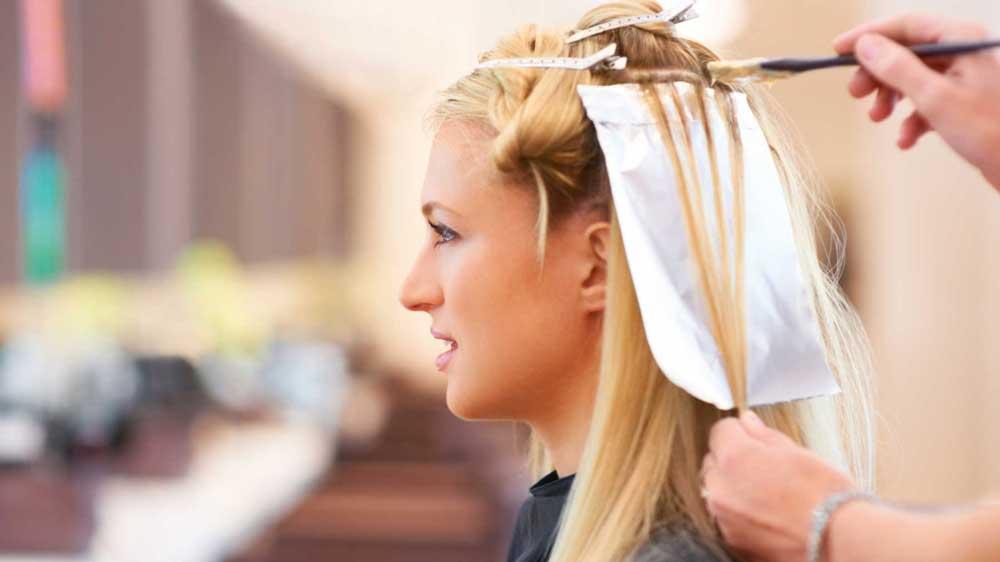 رنگ موی دائمی بدون آمونیاک