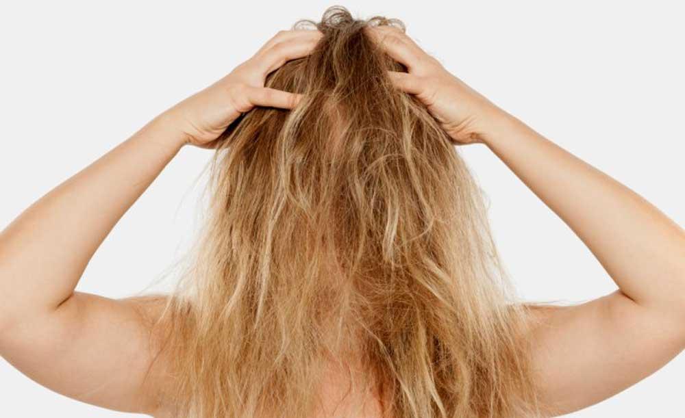 ریختن موهای گره خورده