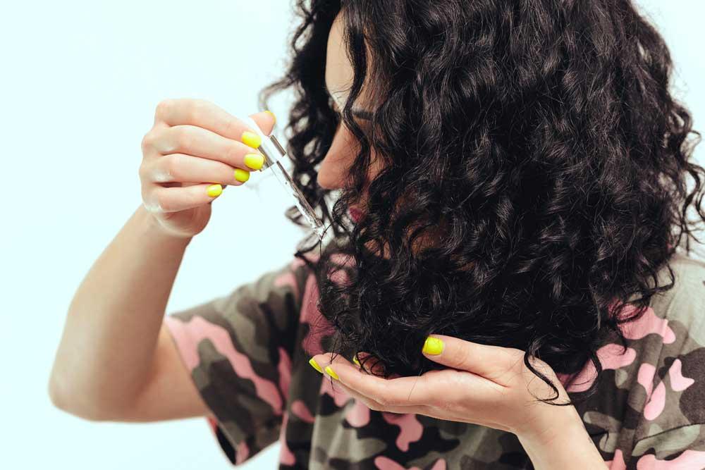روغن تراپی برای موهای سوخته