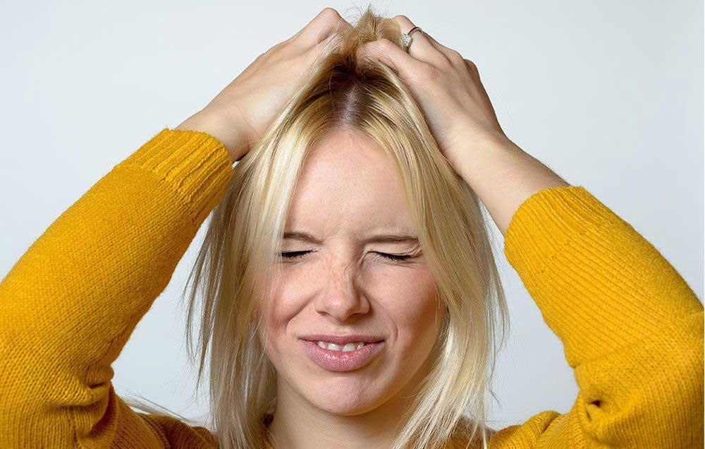 علت خارش شدید پوست سر