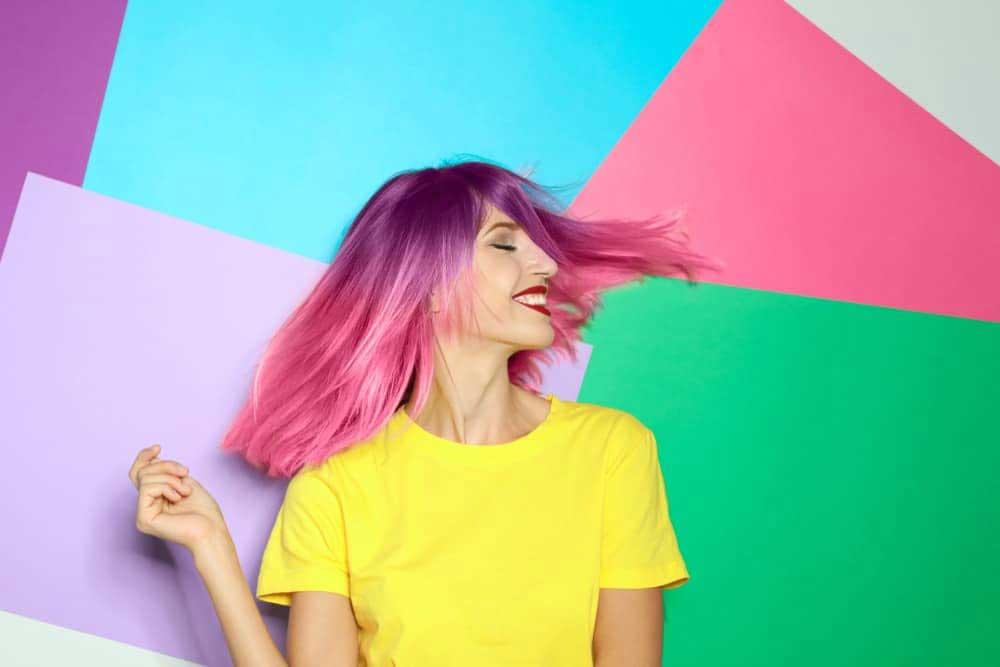 مزایای رنگ مو بدون آمونیاک