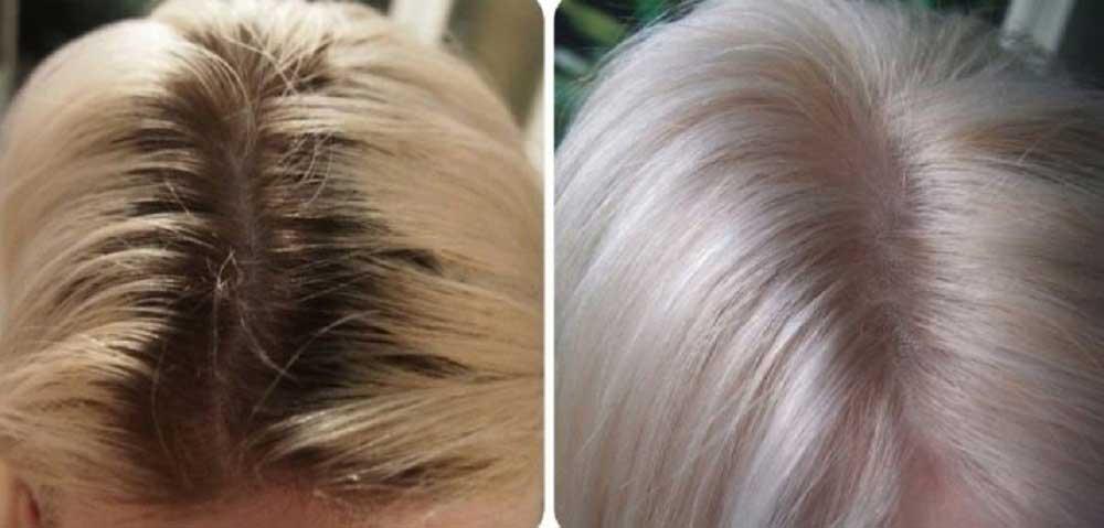 رنگ کردن ریشه مو